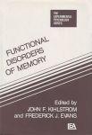 FUNCTIONAL DISORDERS OF MEMORY