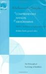 COMPREHENSIVE MANUAL OF ABHIDHAMMA