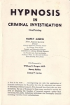 HYPNOSIS IN CRIMINAL INVESTIGATION